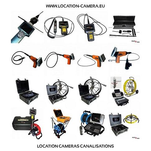 Inspecter avec la camera tuyauterie