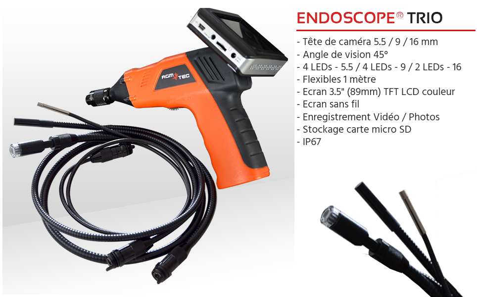 Endoscope televisee - Endoscam Trio