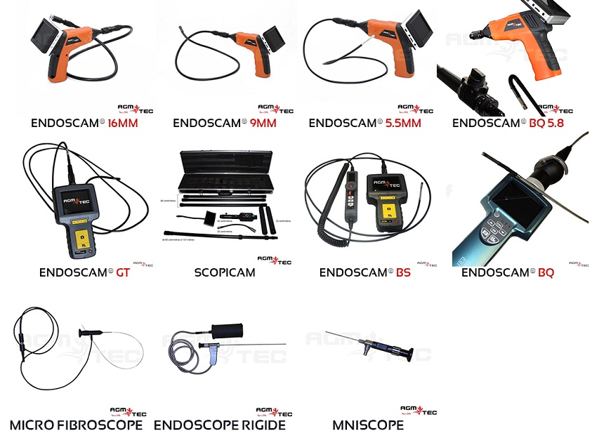 Endoscope Fibroscope industriel