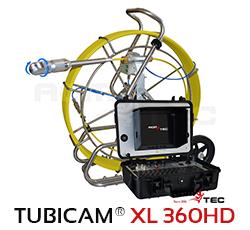 Caméra d'inspection de canalisation rotative Tubicam XL360HD